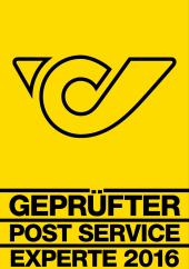 Logo Geprüfter Post Service Experte Österreichische Post
