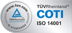 TÜV-Siegel COTI ISO 14001