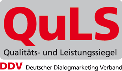 QuLS-Siegel des DDV groß