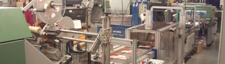 Maschinen im Heftshop