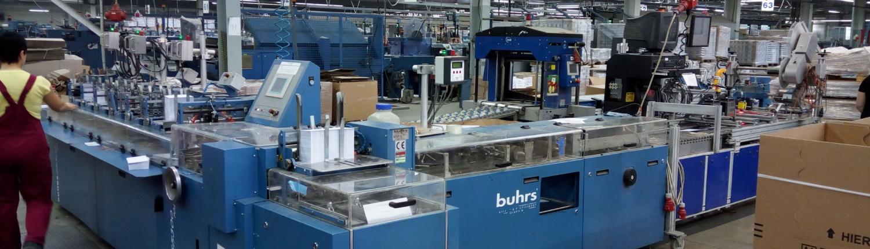 Papierkuvertiermaschine buhrs mit Read & print