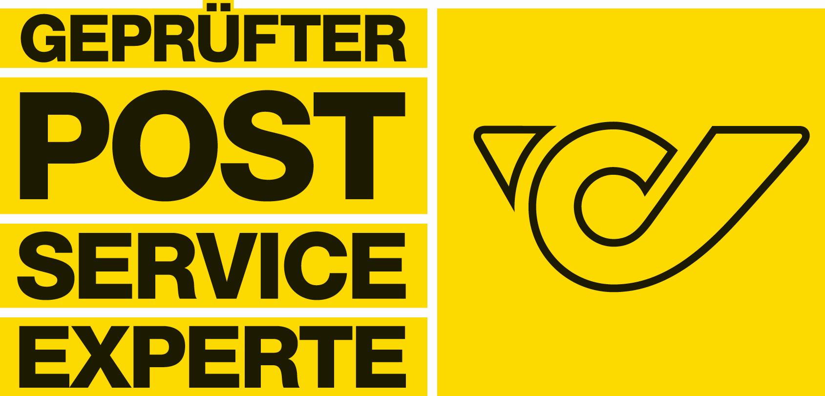 """Zertifikat der Österreichischen Post """"Geprüfter Post Service Experte"""""""